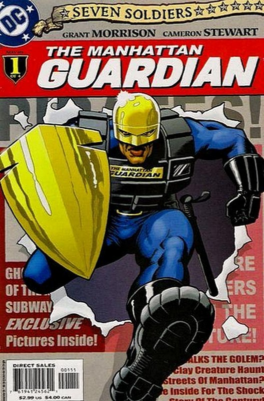 Cover of Seven Soldiers: Manhattan Guardian (2005 Ltd) #1. One of 250,000 Vintage American Comics on sale from Krypton!