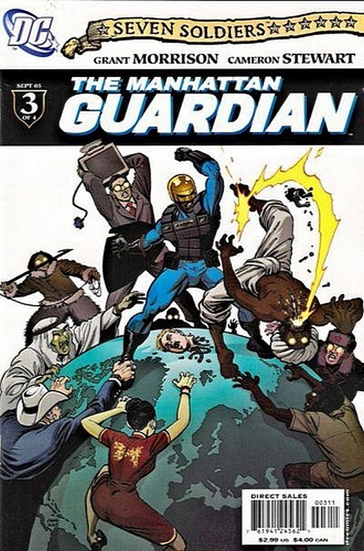 Cover of Seven Soldiers: Manhattan Guardian (2005 Ltd) #3. One of 250,000 Vintage American Comics on sale from Krypton!