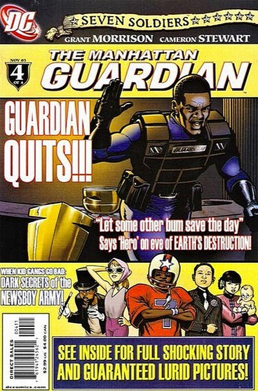 Cover of Seven Soldiers: Manhattan Guardian (2005 Ltd) #4. One of 250,000 Vintage American Comics on sale from Krypton!