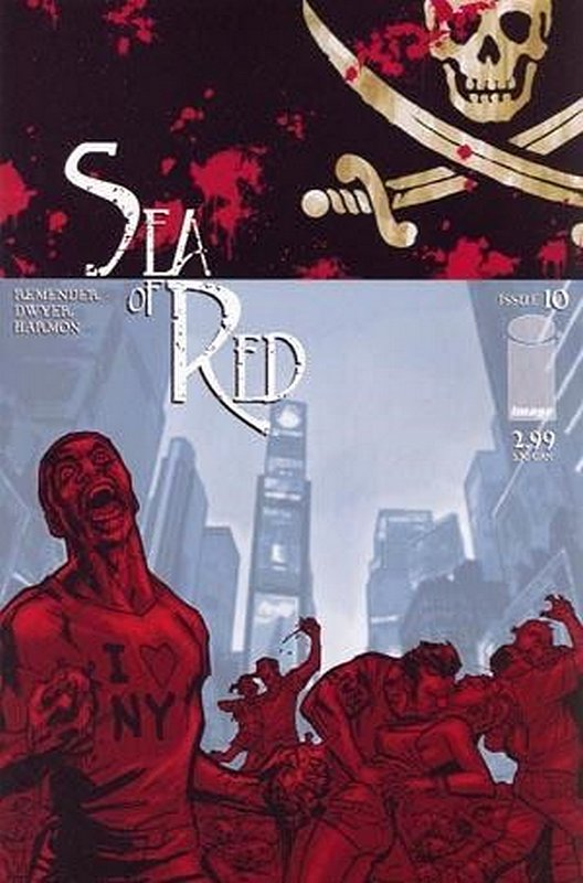 Cover of Sea of Red (Vol 1) #10. One of 250,000 Vintage American Comics on sale from Krypton!