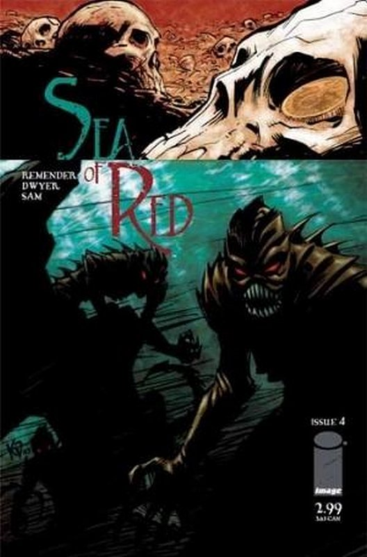 Cover of Sea of Red (Vol 1) #4. One of 250,000 Vintage American Comics on sale from Krypton!