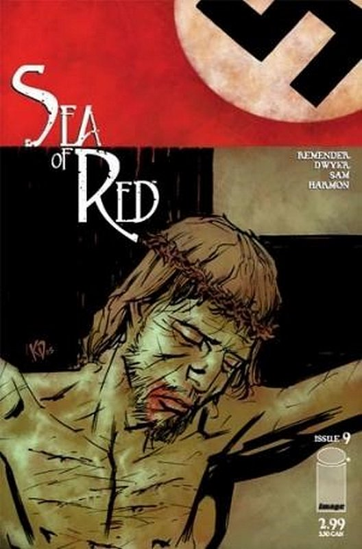Cover of Sea of Red (Vol 1) #9. One of 250,000 Vintage American Comics on sale from Krypton!