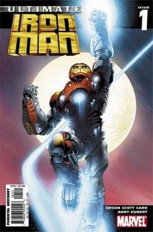 Cover of Ultimate Iron Man (2005 Ltd) #1. One of 250,000 Vintage American Comics on sale from Krypton!