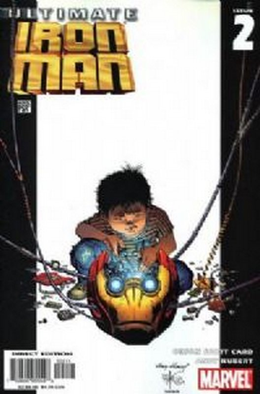 Cover of Ultimate Iron Man (2005 Ltd) #2. One of 250,000 Vintage American Comics on sale from Krypton!