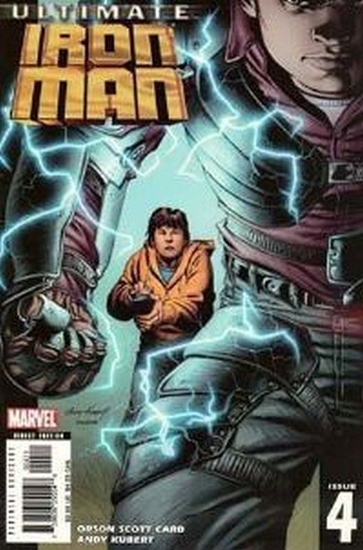 Cover of Ultimate Iron Man (2005 Ltd) #4. One of 250,000 Vintage American Comics on sale from Krypton!
