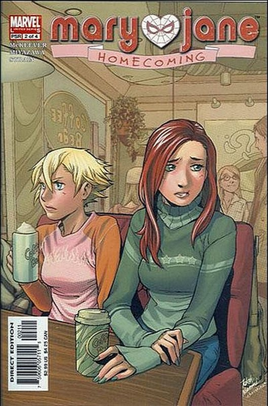 Cover of Mary Jane: Home Coming (2005 Ltd) #2. One of 250,000 Vintage American Comics on sale from Krypton!