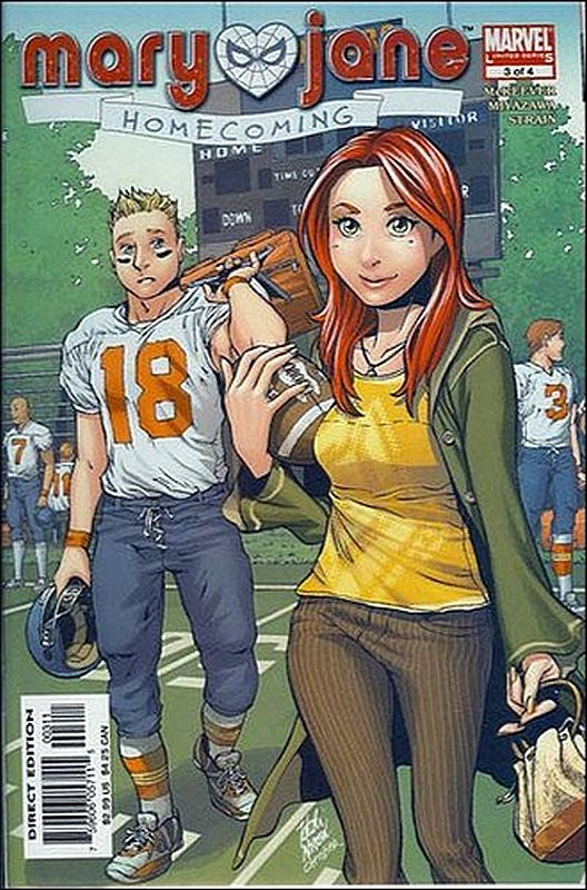 Cover of Mary Jane: Home Coming (2005 Ltd) #3. One of 250,000 Vintage American Comics on sale from Krypton!