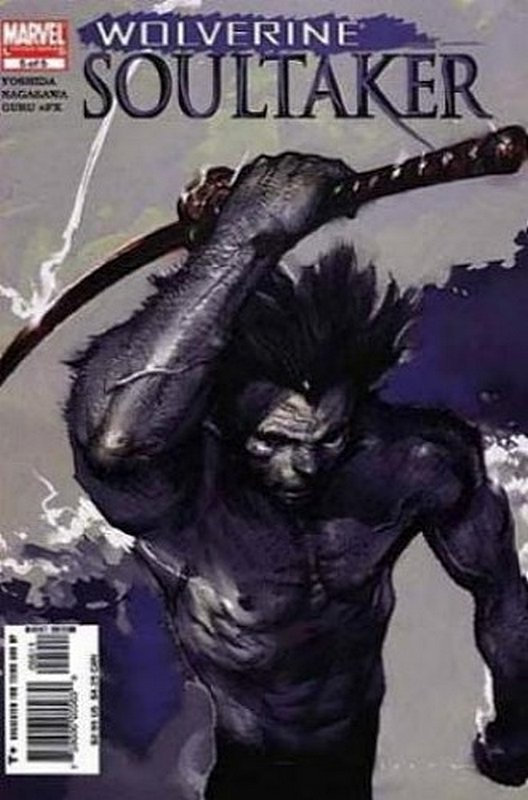Cover of Wolverine: Soultaker (2005 Ltd) #5. One of 250,000 Vintage American Comics on sale from Krypton!