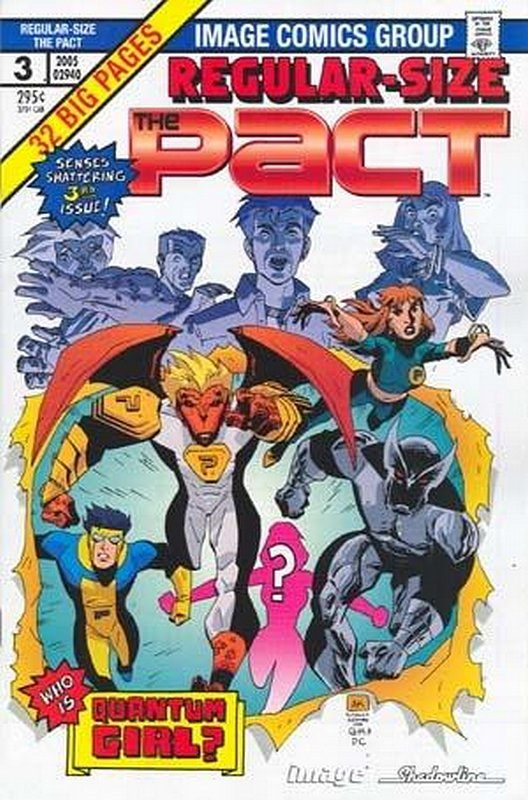 Cover of Pact (2005 Ltd) The #3. One of 250,000 Vintage American Comics on sale from Krypton!
