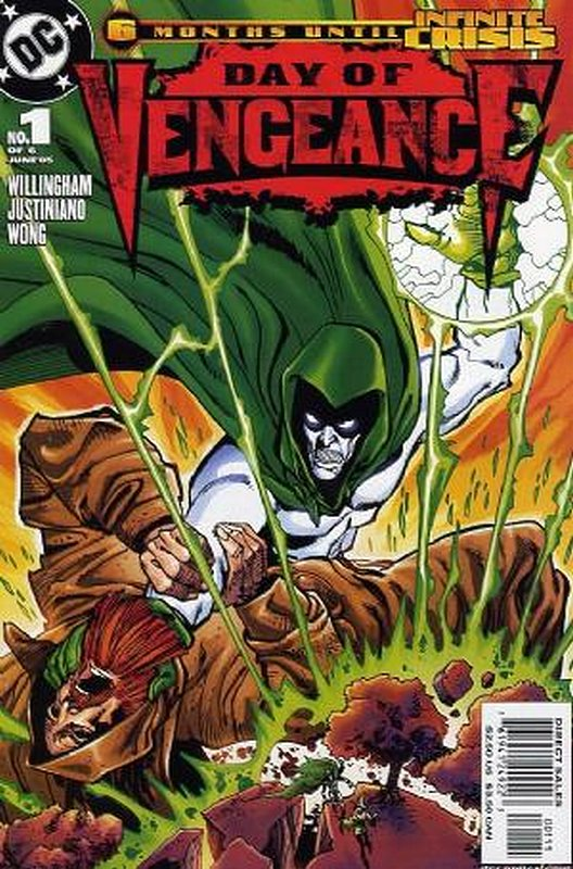 Cover of Day of Vengeance (2005 Ltd) #1. One of 250,000 Vintage American Comics on sale from Krypton!