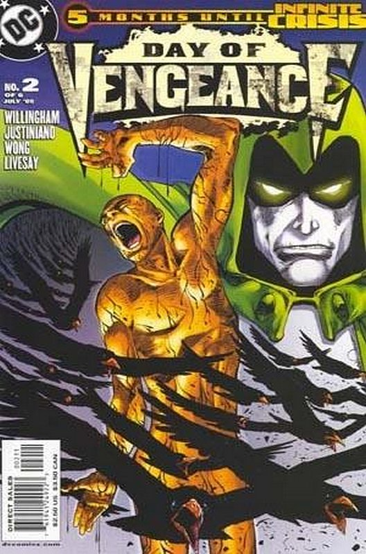 Cover of Day of Vengeance (2005 Ltd) #2. One of 250,000 Vintage American Comics on sale from Krypton!