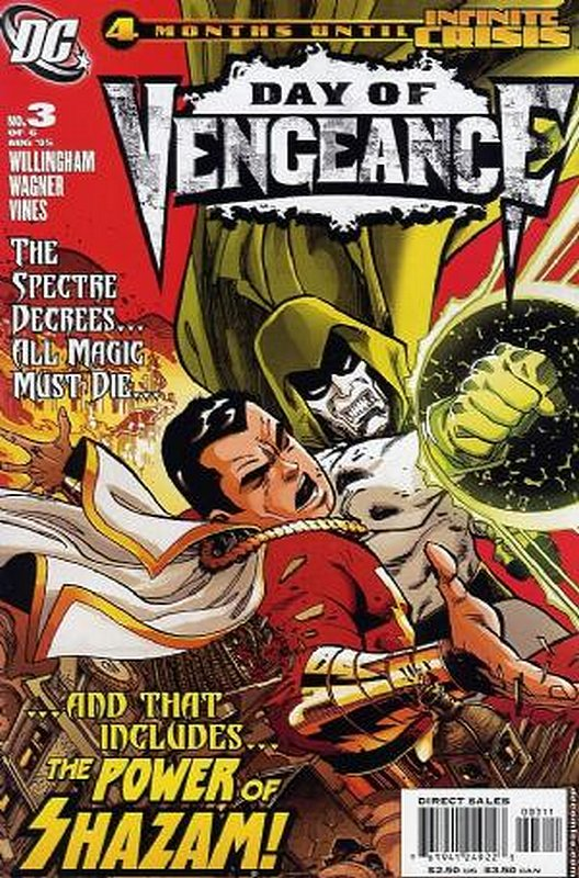 Cover of Day of Vengeance (2005 Ltd) #3. One of 250,000 Vintage American Comics on sale from Krypton!
