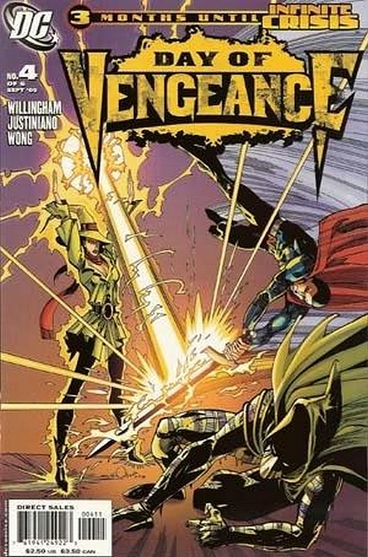 Cover of Day of Vengeance (2005 Ltd) #4. One of 250,000 Vintage American Comics on sale from Krypton!