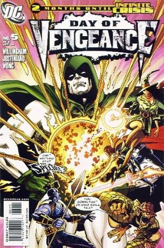 Cover of Day of Vengeance (2005 Ltd) #5. One of 250,000 Vintage American Comics on sale from Krypton!