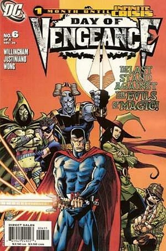 Cover of Day of Vengeance (2005 Ltd) #6. One of 250,000 Vintage American Comics on sale from Krypton!