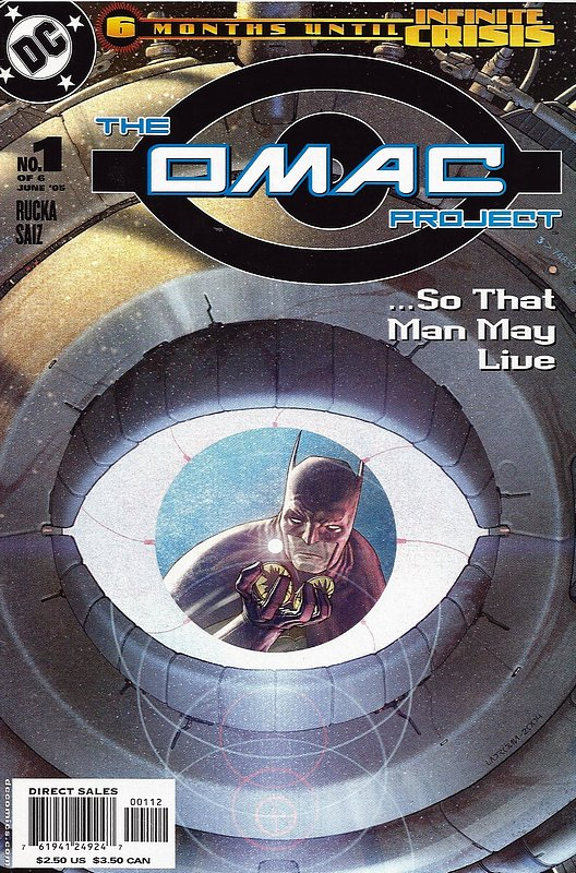 Cover of Omac Project (2005 Ltd) #1. One of 250,000 Vintage American Comics on sale from Krypton!