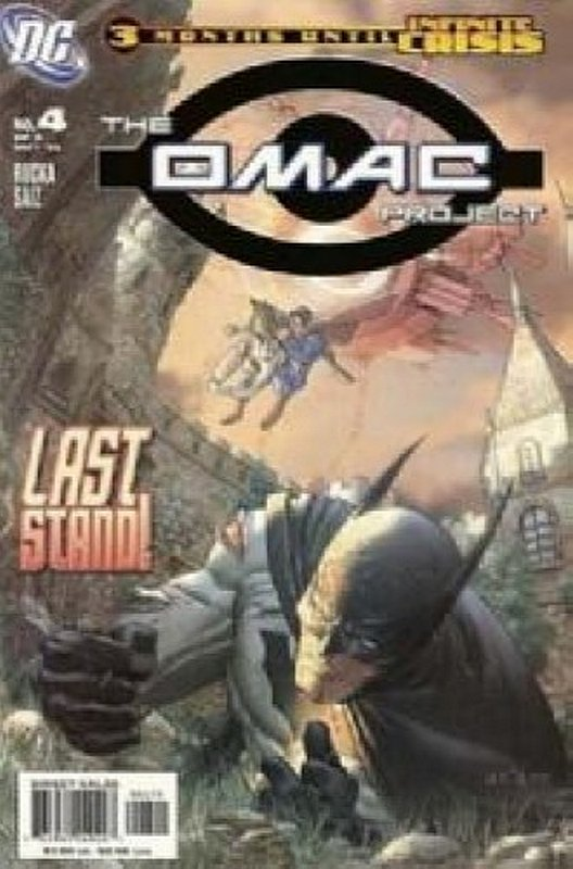 Cover of Omac Project (2005 Ltd) #4. One of 250,000 Vintage American Comics on sale from Krypton!