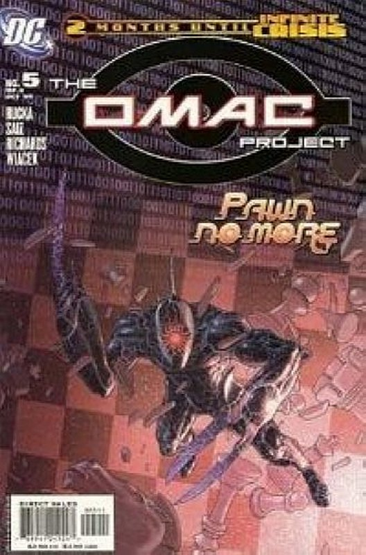 Cover of Omac Project (2005 Ltd) #5. One of 250,000 Vintage American Comics on sale from Krypton!