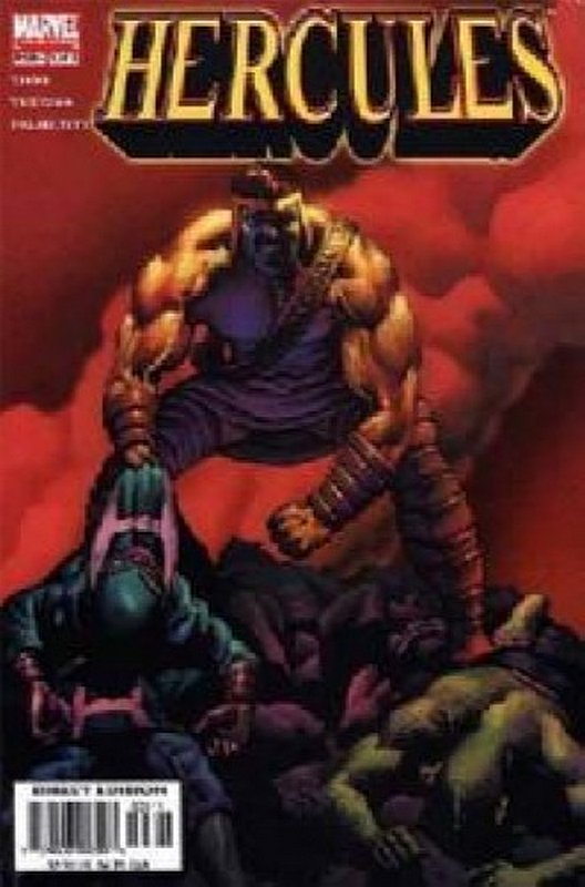 Cover of Hercules (2005 Ltd) #3. One of 250,000 Vintage American Comics on sale from Krypton!