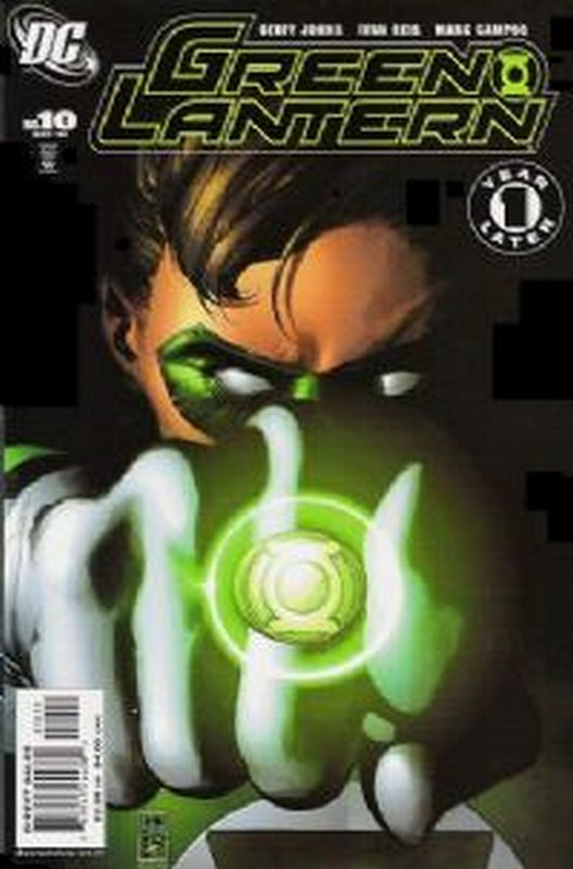 Cover of Green Lantern (Vol 4) #10. One of 250,000 Vintage American Comics on sale from Krypton!