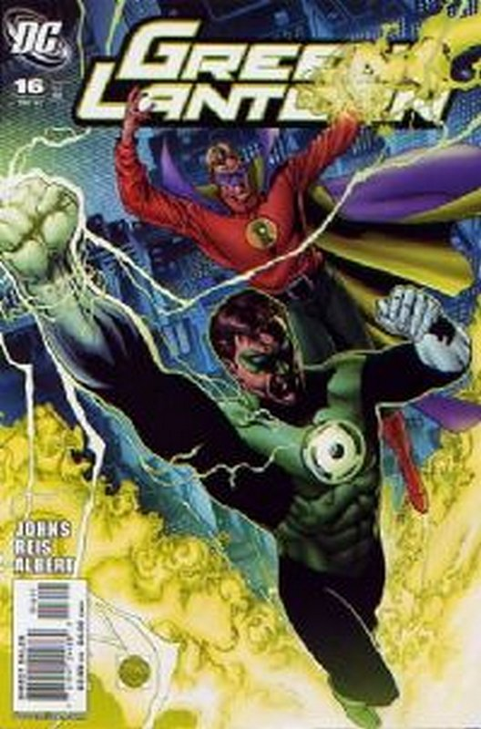 Cover of Green Lantern (Vol 4) #16. One of 250,000 Vintage American Comics on sale from Krypton!
