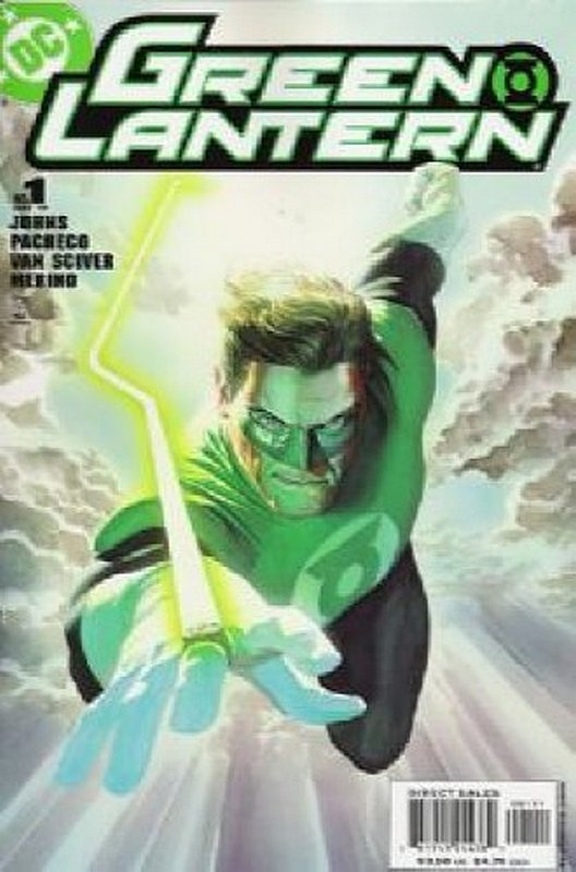 Cover of Green Lantern (Vol 4) #1. One of 250,000 Vintage American Comics on sale from Krypton!