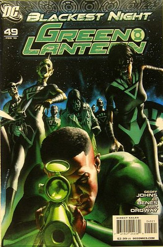 Cover of Green Lantern (Vol 4) #49. One of 250,000 Vintage American Comics on sale from Krypton!