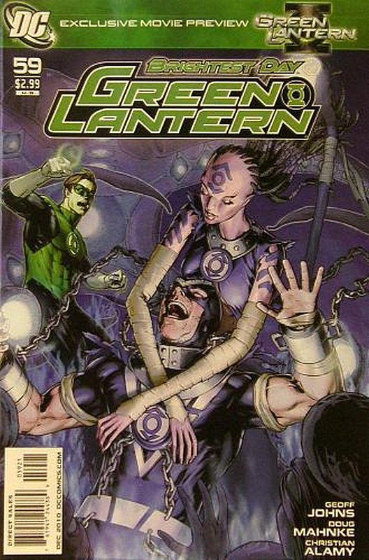 Cover of Green Lantern (Vol 4) #59. One of 250,000 Vintage American Comics on sale from Krypton!