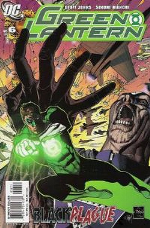 Cover of Green Lantern (Vol 4) #6. One of 250,000 Vintage American Comics on sale from Krypton!