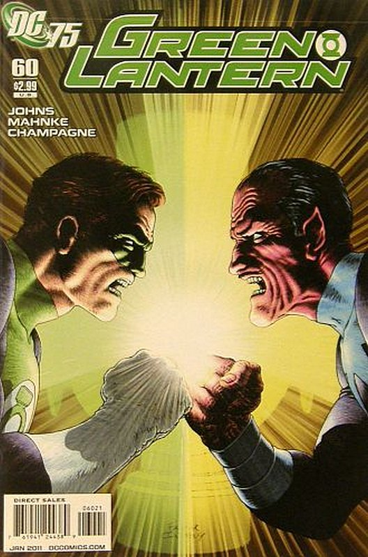 Cover of Green Lantern (Vol 4) #60. One of 250,000 Vintage American Comics on sale from Krypton!