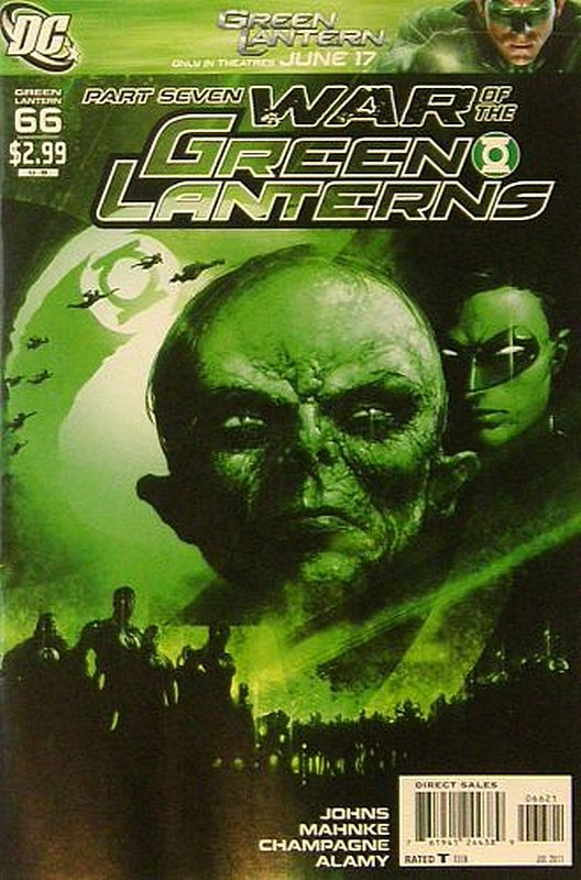 Cover of Green Lantern (Vol 4) #66. One of 250,000 Vintage American Comics on sale from Krypton!