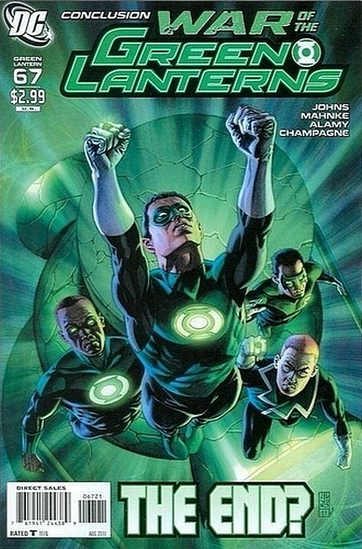 Cover of Green Lantern (Vol 4) #67. One of 250,000 Vintage American Comics on sale from Krypton!