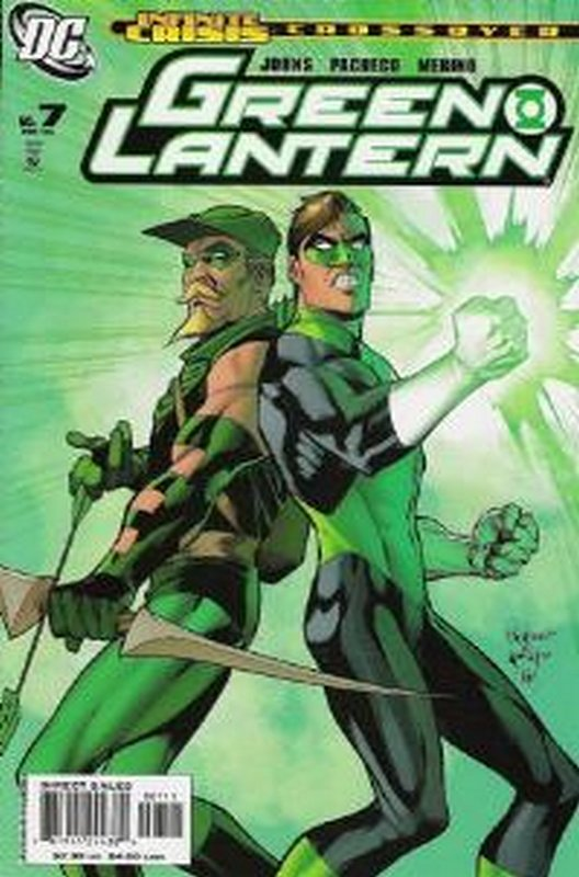 Cover of Green Lantern (Vol 4) #7. One of 250,000 Vintage American Comics on sale from Krypton!