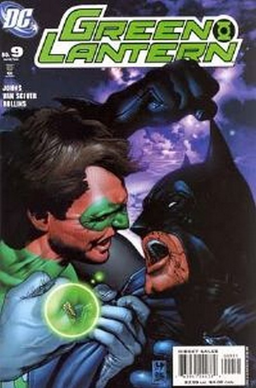Cover of Green Lantern (Vol 4) #9. One of 250,000 Vintage American Comics on sale from Krypton!