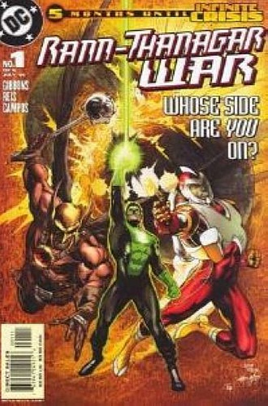Cover of Rann/Thanagar War (2005 Ltd) The #1. One of 250,000 Vintage American Comics on sale from Krypton!