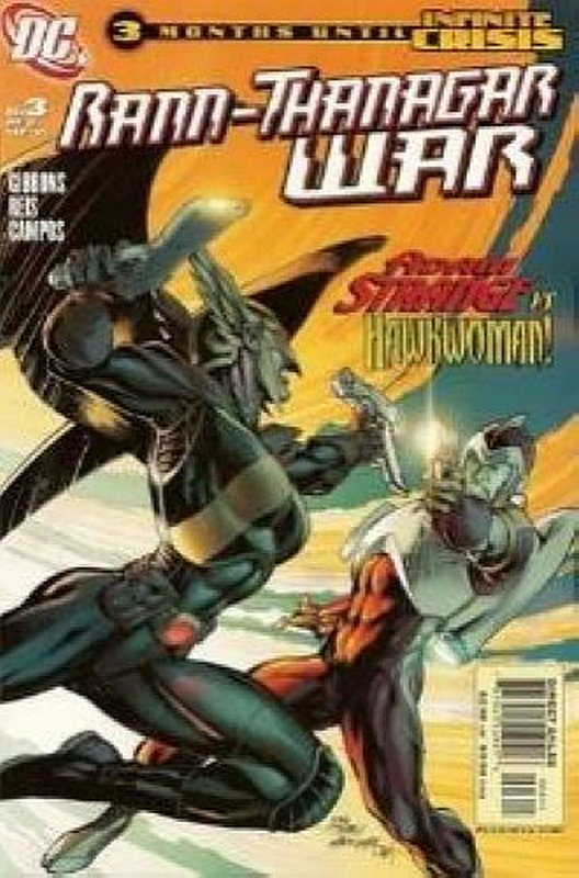 Cover of Rann/Thanagar War (2005 Ltd) The #3. One of 250,000 Vintage American Comics on sale from Krypton!