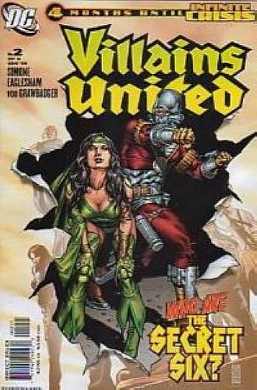 Cover of Villains United (2005 Ltd) #2. One of 250,000 Vintage American Comics on sale from Krypton!