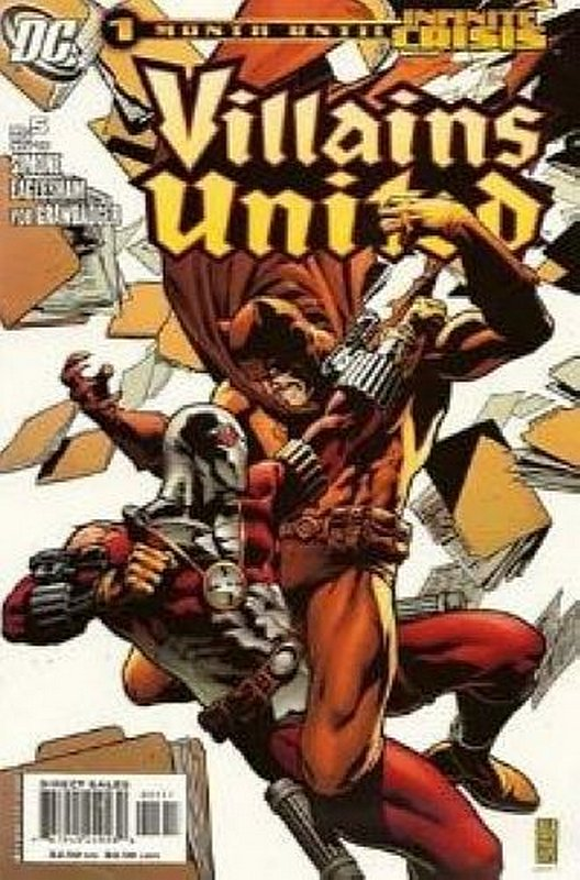 Cover of Villains United (2005 Ltd) #5. One of 250,000 Vintage American Comics on sale from Krypton!