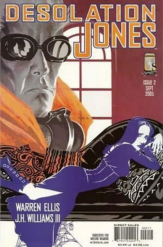 Cover of Desolation Jones (Vol 1) #2. One of 250,000 Vintage American Comics on sale from Krypton!