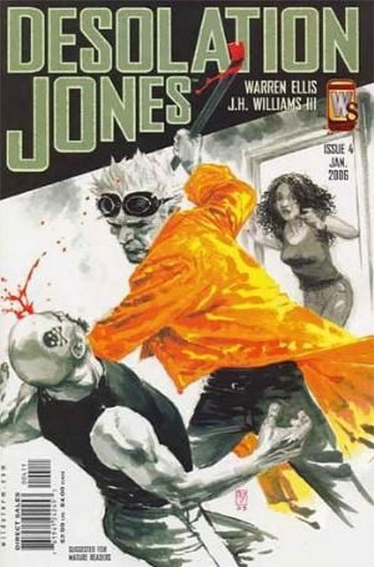 Cover of Desolation Jones (Vol 1) #4. One of 250,000 Vintage American Comics on sale from Krypton!