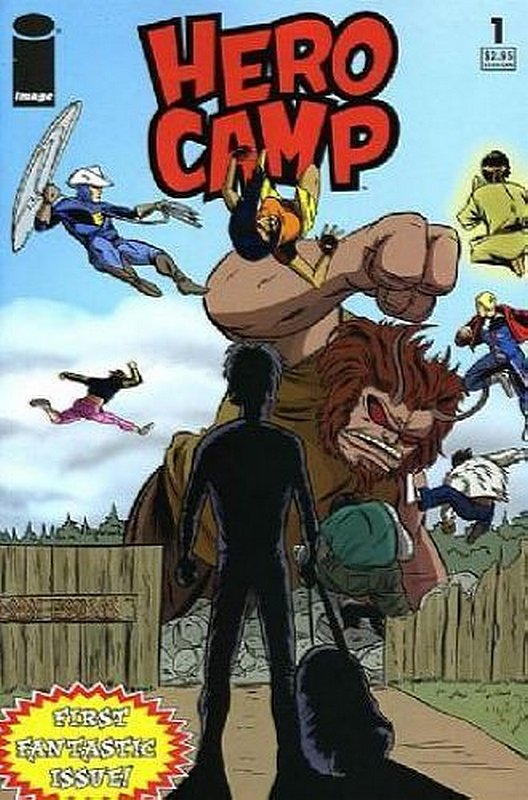 Cover of Hero Camp (2005 Ltd) #1. One of 250,000 Vintage American Comics on sale from Krypton!