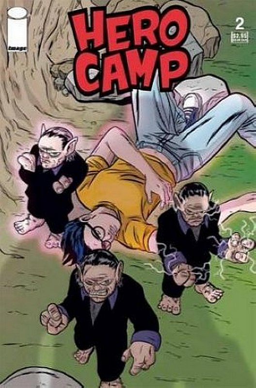 Cover of Hero Camp (2005 Ltd) #2. One of 250,000 Vintage American Comics on sale from Krypton!