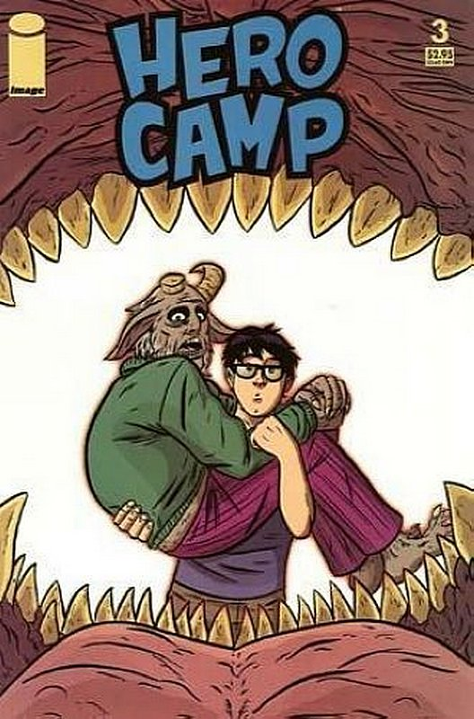 Cover of Hero Camp (2005 Ltd) #3. One of 250,000 Vintage American Comics on sale from Krypton!