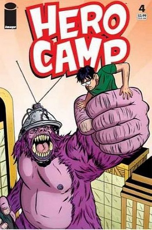 Cover of Hero Camp (2005 Ltd) #4. One of 250,000 Vintage American Comics on sale from Krypton!