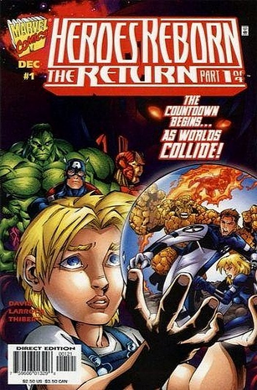 Cover of Heroes Reborn the return (1997 Ltd) #1. One of 250,000 Vintage American Comics on sale from Krypton!