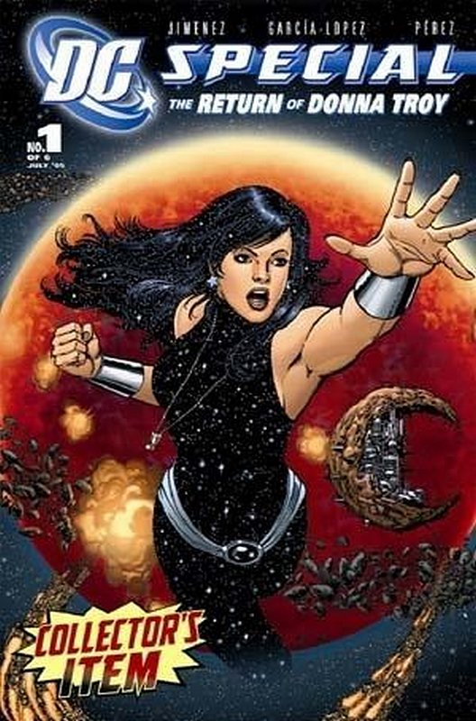 Cover of DC Special: Return of Donna Troy (2005 Ltd) #1. One of 250,000 Vintage American Comics on sale from Krypton!