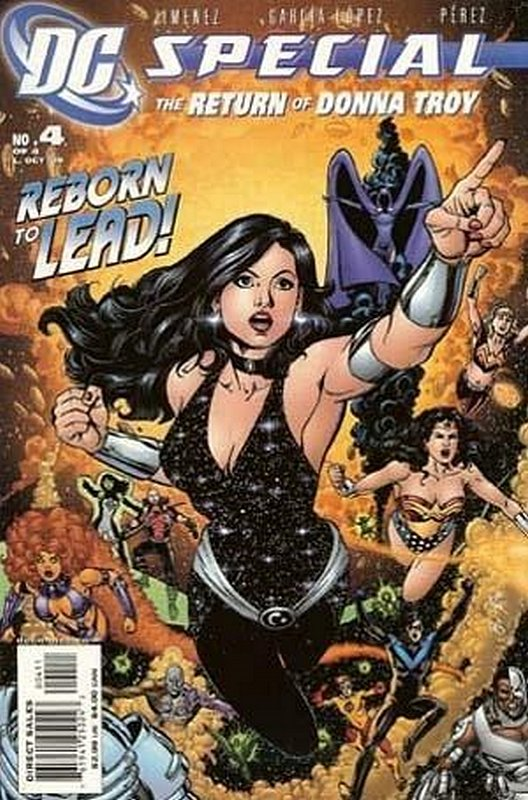 Cover of DC Special: Return of Donna Troy (2005 Ltd) #4. One of 250,000 Vintage American Comics on sale from Krypton!