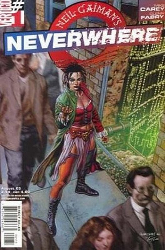 Cover of Neil Gaimans Neverwhere (2005 Ltd) #1. One of 250,000 Vintage American Comics on sale from Krypton!