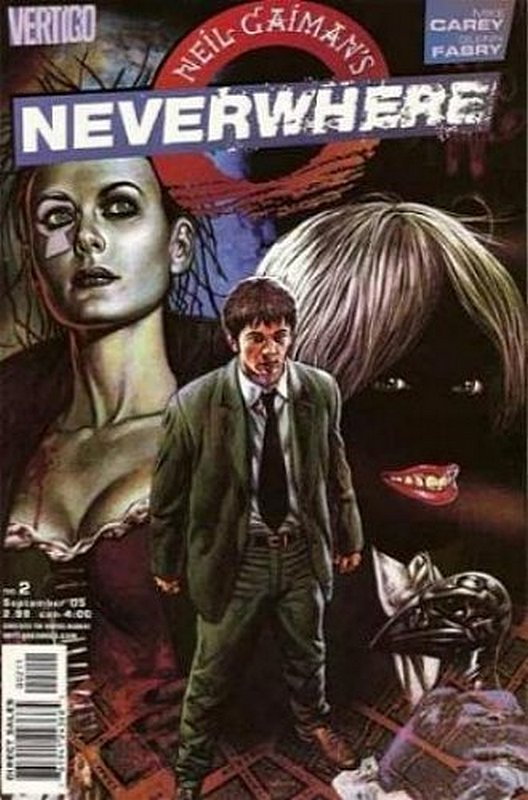 Cover of Neil Gaimans Neverwhere (2005 Ltd) #2. One of 250,000 Vintage American Comics on sale from Krypton!