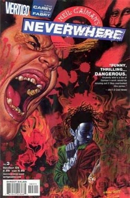 Cover of Neil Gaimans Neverwhere (2005 Ltd) #3. One of 250,000 Vintage American Comics on sale from Krypton!